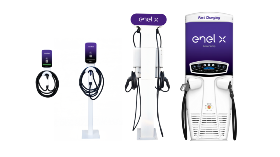 Enel X Commercial Product line