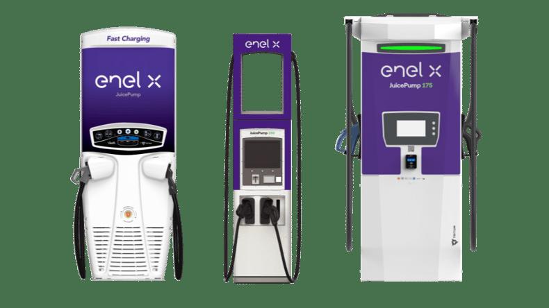 Enel X JuicePump Product lineup